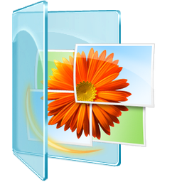windows 7 live photo gallery folder PNG